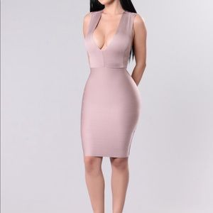 X Back Bandage Dress